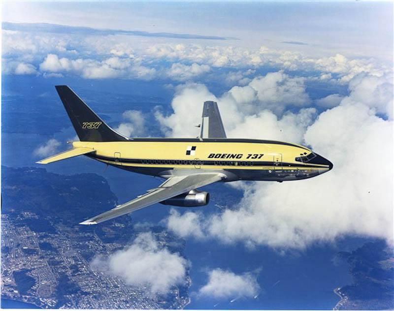 เครื่องบิน Boeing 737 ขึ้นทดสอบบินเป็นครั้งแรก