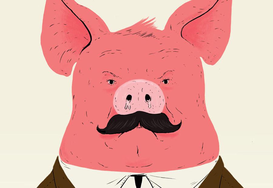 แอนิมอลฟาร์ม (Animal Farm) นวนิยายต่อต้านเผด็จการ