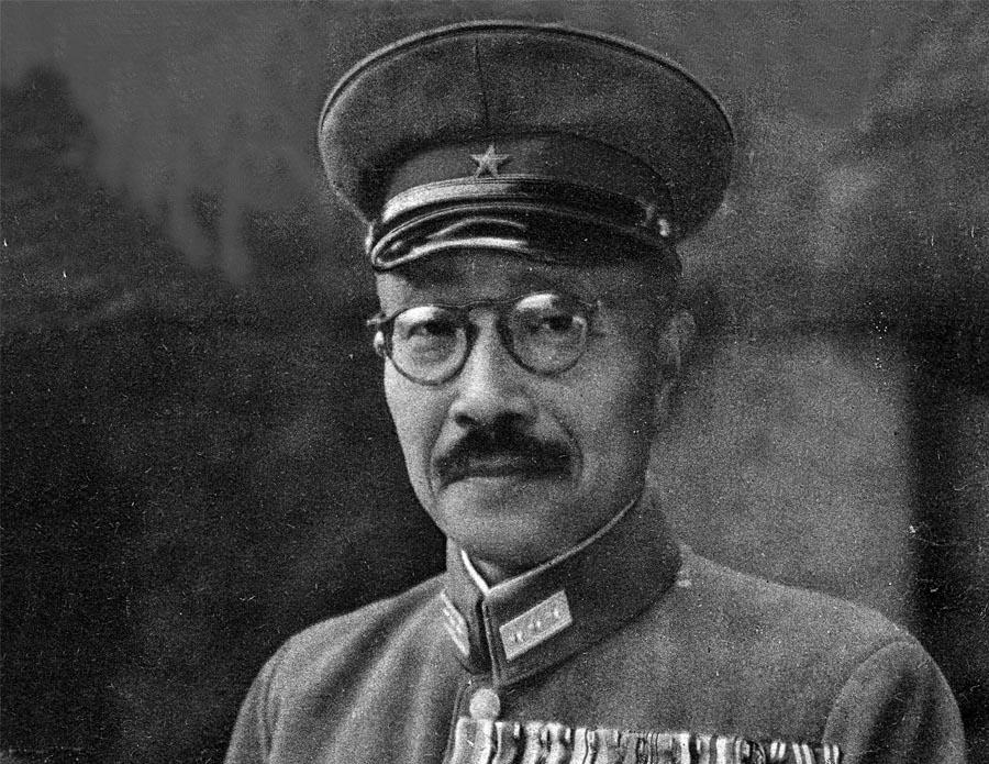 ฮิเดกิ โตโจ (Hideki Tojo) ผู้บัญชาการทหารสูงสุด กองทัพจักรวรรดิญี่ปุ่นในสงครามโลกครั้ง 2