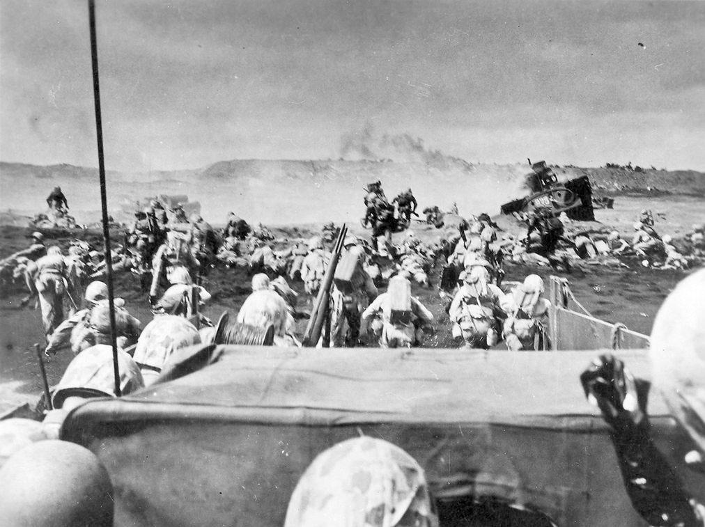ยุทธการที่อิโวจิมา (Battle of Iwo Jima)