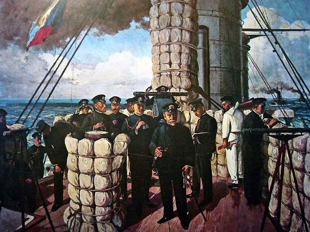 ยุทธนาวีที่ช่องแคบทสึชิมะ (Battle of Tsushima) วีรกรรมนายพลเรือโตโก เฮฮะจิโร