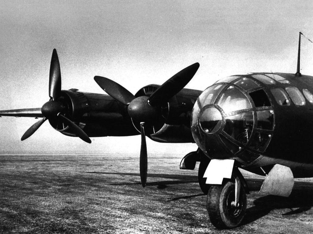 เครื่องบินทิ้งระเบิดทางยุทธศาสตร์ระยะไกล Messerschmitt Me 264