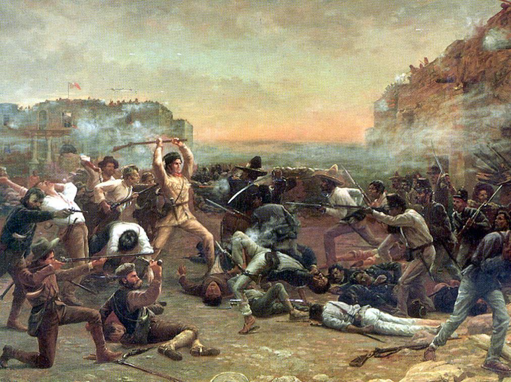 ยุทธการป้อมอลาโม (Battle of the Alamo)