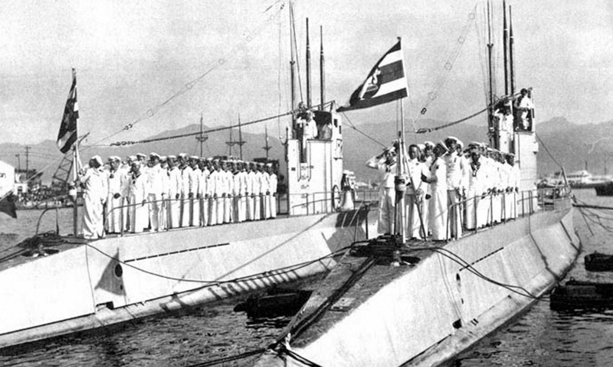 เรือดำน้ำไทย 4 ลำแรกเข้าประจำการกองทัพเรือไทยเมื่อ 82 ปีก่อน