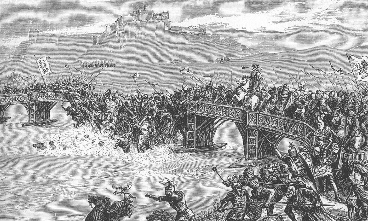 ยุทธภูมิสะพานสเตอร์ลิง วิลเลียม วอลเลซทำสงครามเรียกร้องเอกราชจากอังกฤษ