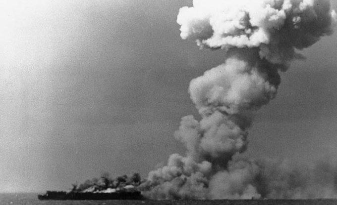 ยุทธนาวีที่อ่าวเลย์เต (Battle of Leyte Gulf) ยุทธนาวีครั้งใหญ่ที่สุดในสงครามโลกครั้งที่ 2