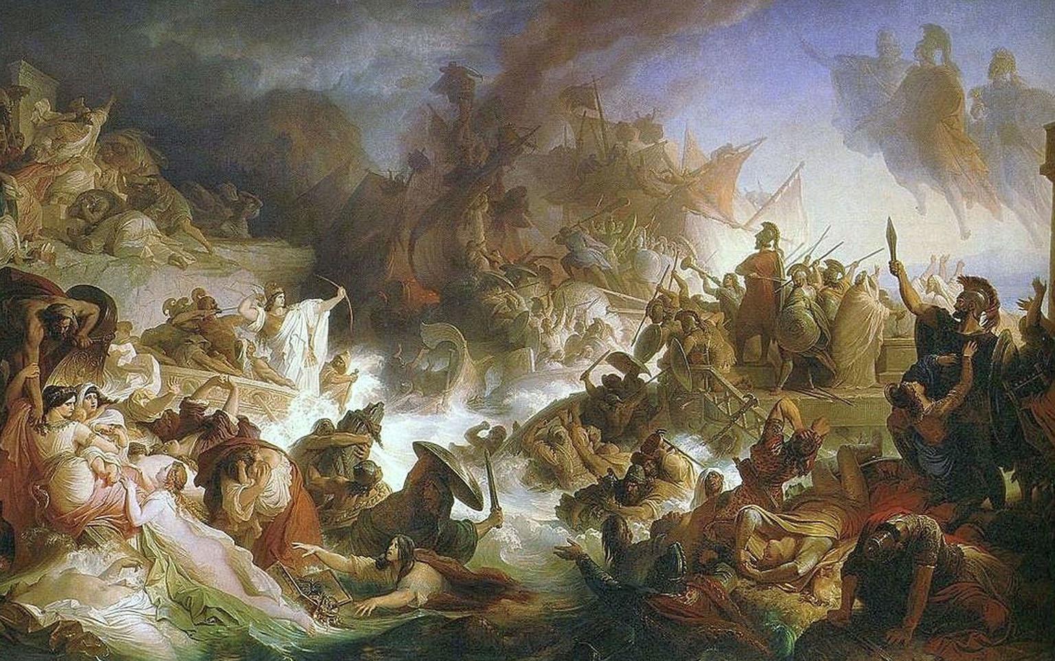 ยุทธนาวีที่ซาลามิส (Battle of Salamis) สงครามครั้งสำคัญระหว่างกรีซและเปอร์เซีย